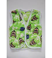 Жилетка детская, р.86,90,92,98. теплая жилетка., фото 1