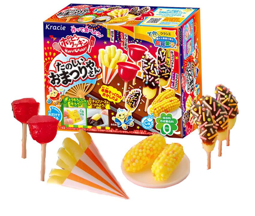 "Popin' Cookin' Japanese MATSURI Food Making Kit Японский набор ""Сделай сам"" для приготовления пищи MATSURI"