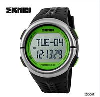 Годинник з пульсометром Skmei Sport Watch 1058 (green)
