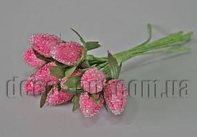 Ежевика розовая на проволоке 12 шт