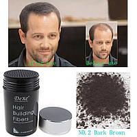 Загуститель волос DeXe кератиновые строительные микроволокна -палитра цветов