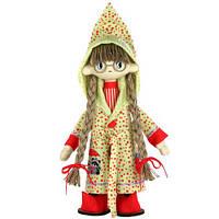 Набор для шитья Текстильная кукла Джессика