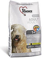Бонус 15% 1st Choice Hypoallergic (Фёст Чойс Хиппоаллергеник) Корм гипоаллергенный для собак   2,72 кг