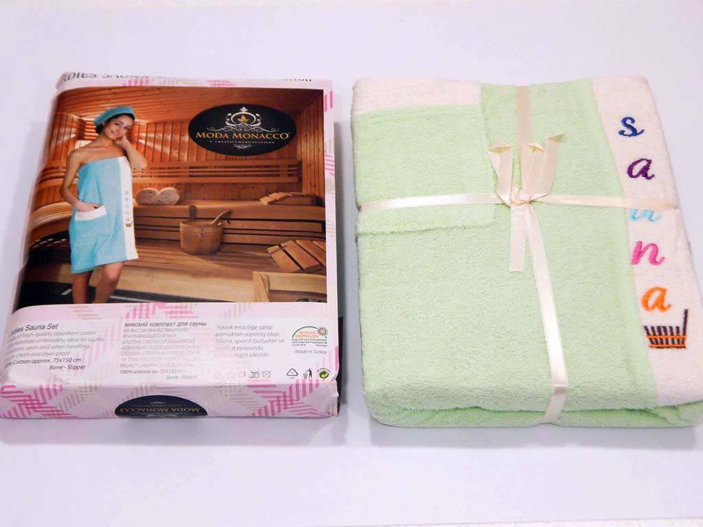 Подарочный набор для сауны женский, Moda Monacco sauna 1