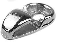 Петля под шнурок, А-887, цв. никель