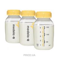 Medela Бутылочки для сбора и хранения грудного молока Medela Kaizer 3шт по 150 мл