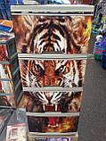 """Комод на 4 ящика с декором """"тигр """" Алеана, фото 2"""