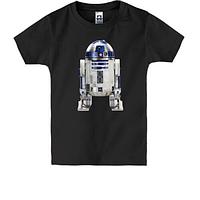 Детская футболка с рисунком робота R2 D2