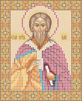 Атлас с нанесенным рисунком «Святой пророк Илья»