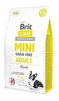 Brit Care (Брит кеа) Mini Grain Free Adult беззерновой корм для взрослых собак миниатюрных пород, 2 кг
