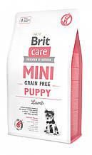 Brit Care (Брит кеа) Mini Grain Free Puppy беззерновой корм для щенков миниатюрных пород, 7 кг