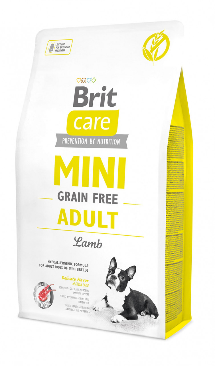 Brit Care (Брит кеа) Mini Grain Free Adult беззерновой корм для взрослых собак миниатюрных пород, 7 кг