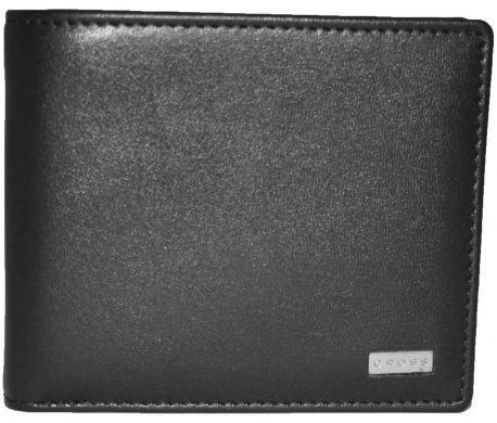 Отменное черное мужское портмоне из натуральной кожи CROSS Insignia AC248364B-1, 11.3 х 9.3 х 2.3 см