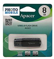 USB Flash 8Gb Apacer AH322 (черная)
