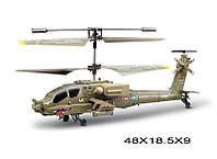 Р.У.Вертолет Syma S109G воен.с гироскопом,свет,аккум.USB,кор.48*18,5*9 ш.к./18/