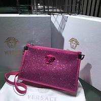 Розовая сумка Versace