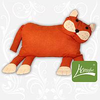 """Подушка-игрушка """"Кот"""" оранжевая, в сумке 50*33см, ТМ Homefort"""