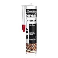 Герметик Ceresit CS 27 битумный , 300 мл.