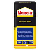 Смесь для выравнивания пола Момент Ровный Пол 25 кг Henkel Bautechnik