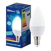 Лампа светодиодная Искра LED lamp C37 5W 4000k E14 470lm