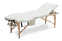 Массажный стол BodyFit 3х сегментный XL деревянный