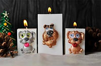 Декоративная свеча Odessvech Куб Размер: 6х6х9 см
