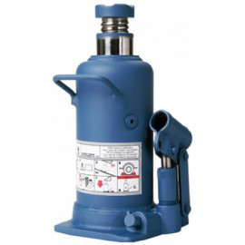 Домкрат бутылочный профи, 12т (H MIN 230ММ, H MAX 495ММ)