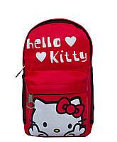 "Рюкзачок ""Мультяшки"" Hello Kitty 2 Цвета Красный., фото 1"