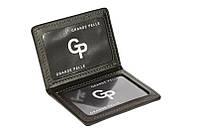 Обложка на права, тех. паспорт, удостоверение Grande Pelle, черный