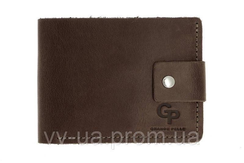 Портмоне Grande Pelle, шоколад, 542120, кожа
