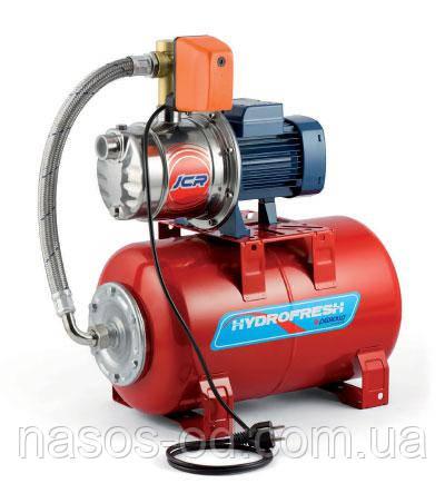 Насосная станция гидрофор Pedrollo JCRm1 A для воды 0.6кВт Hmax43м Qmax55л/мин (самовсасывающий насос) 24л