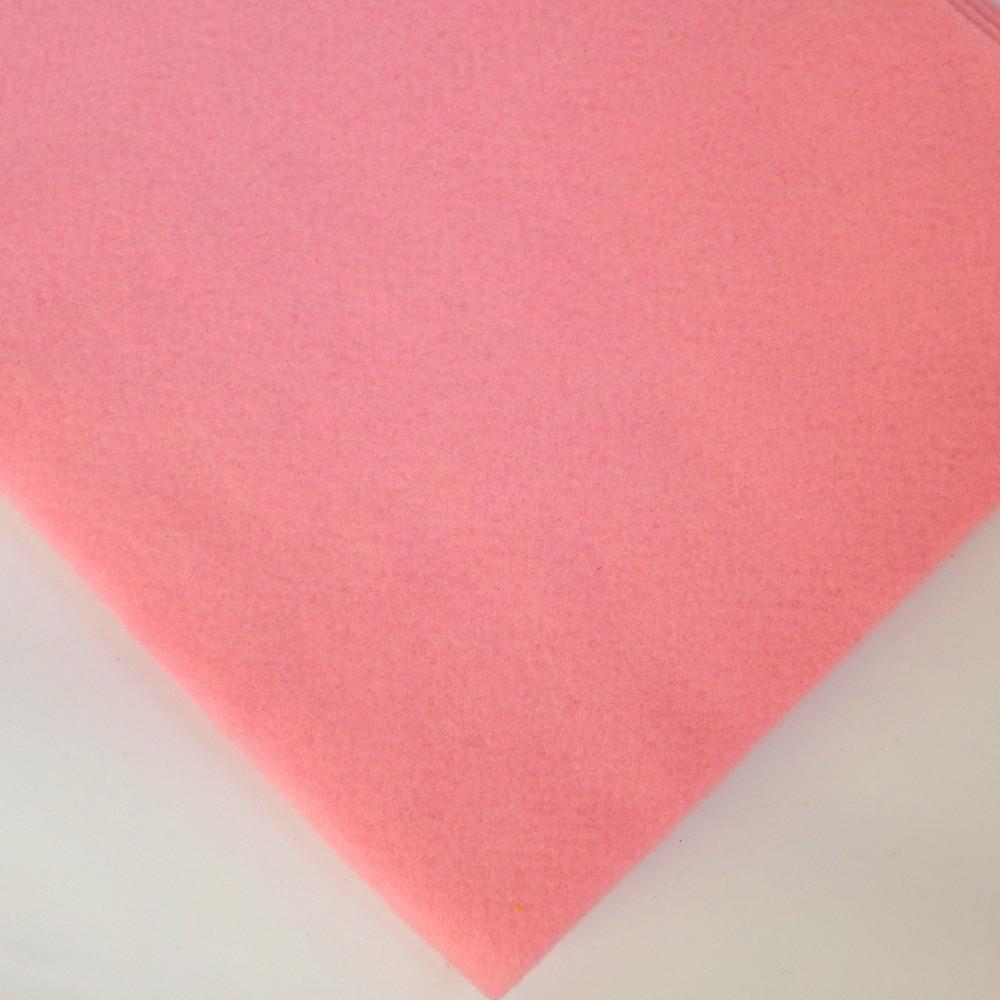 Фетр мягкий №11 розовый, лист 30х20 см, 1,5 мм (Тайвань)