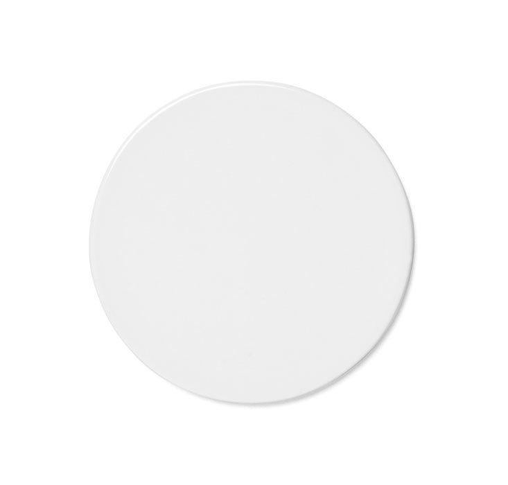 Тарелка плоская крышка New Norm 17,5 см белый