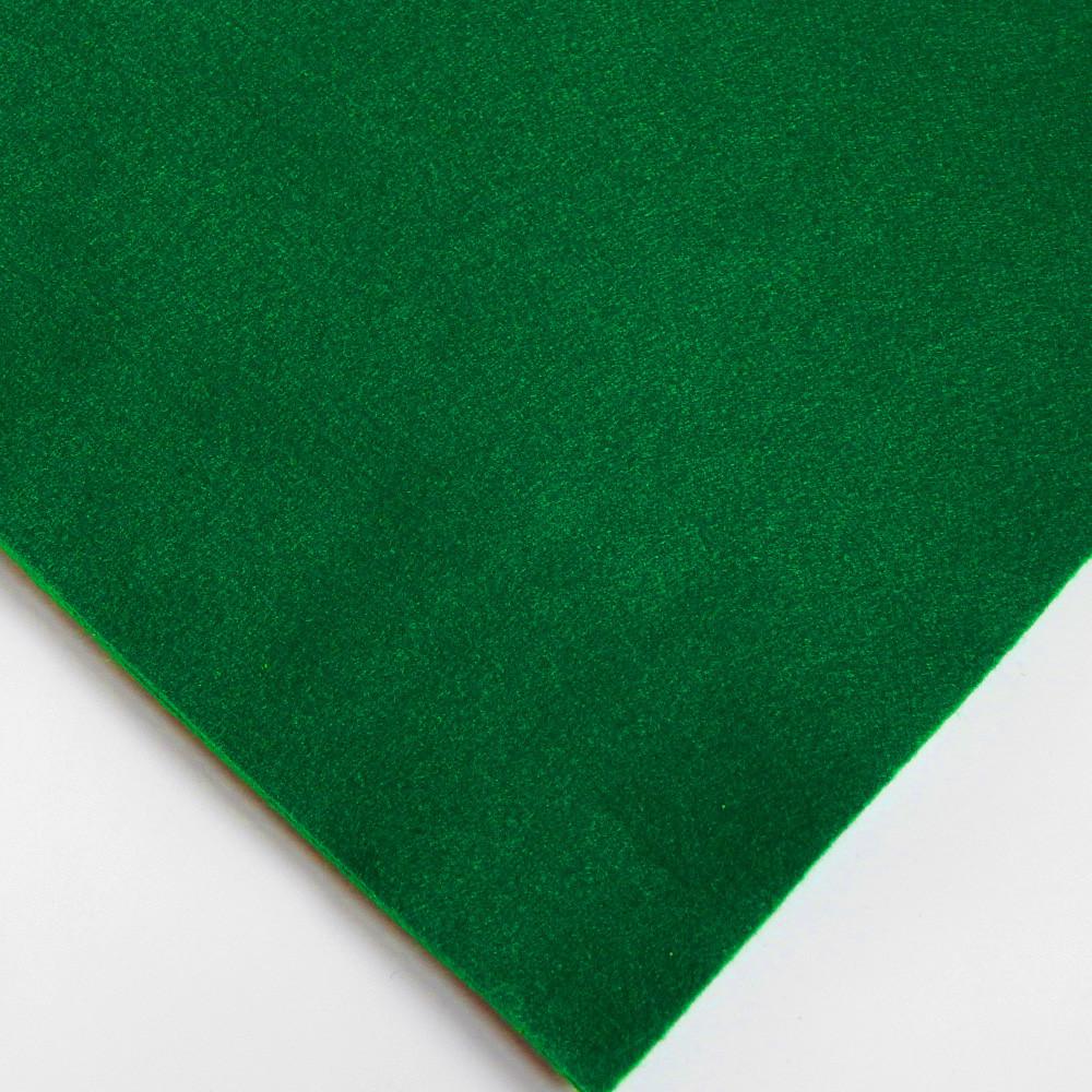 Фетр мягкий №79 лесной-зеленый, лист 30х20 см, 1,5 мм (Тайвань)