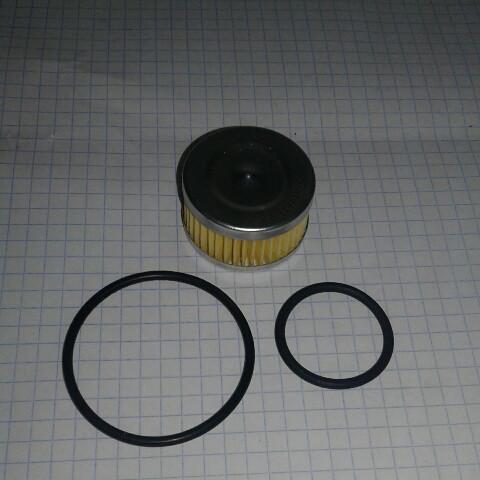 Фильтр газовый редуктора ГБО 15402 Tomasetto + кольца уплотнительные Gumex