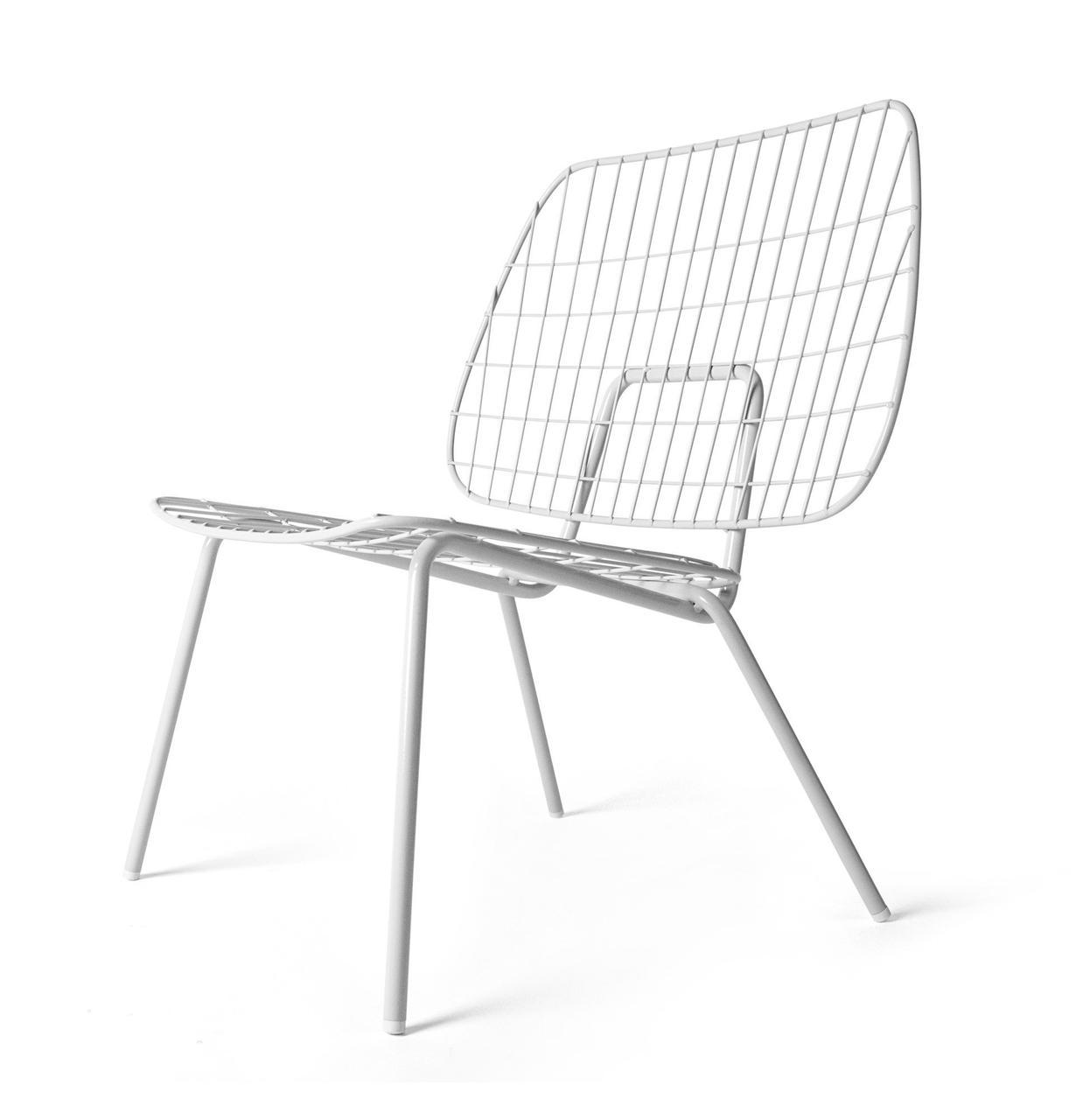 Стул WM String Lounge Chair белый