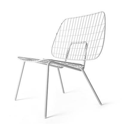 Стул WM String Lounge Chair белый, фото 2