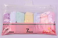 Детские трусики для девочки неделька Турция. Donella 4171WYG. Размер на 1-2 годика. В упаковке 7 шт.