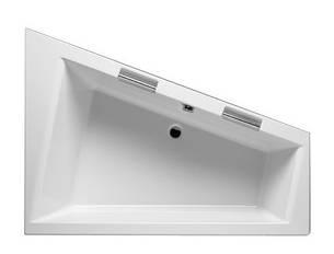 Ванна Riho Doppio асиметрична 180*130 см, L (BA91), фото 2