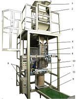 Автоматическая установка фасовки пеллет и брикетов