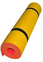 Килимок туристичний карімат Verdani Спорт 1800*600*8 мм двошаровий щільність 33 кг/м3