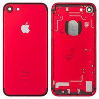 Корпус для мобильного телефона Apple iPhone 7, красный, с держателем S