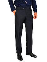 Черно-серые мужские брюки классические VIK VLADIS в мелкую клетку