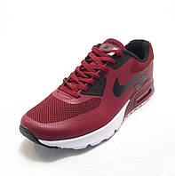 Кроссовки мужские  Nike Air Max 90 текстиль сине-красные (найк аир макс)(р.41,42,43,44,45,46)