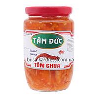 Креветки в кисло-солодкому соусі TOM CHUA Tam Duc 430г (В'єтнам), фото 1