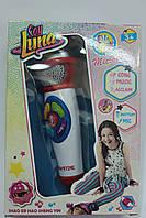 Детский музыкальный микрофон (20 см., звук,музыка,свет), в коробке