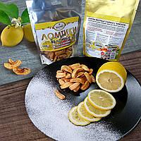 Жевательная конфета «Ломтики яблочные сушеные с лимоном», 100 г, фото 1