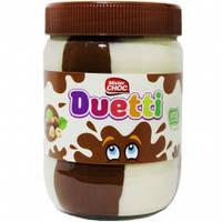 Шоколадная паста Mister Choc Duetti, 600 г (Нидерланды)