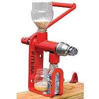 Шнековый ручной маслопресс PITEBA домашний пресс для отжима масла бытовой маслобойка для дома