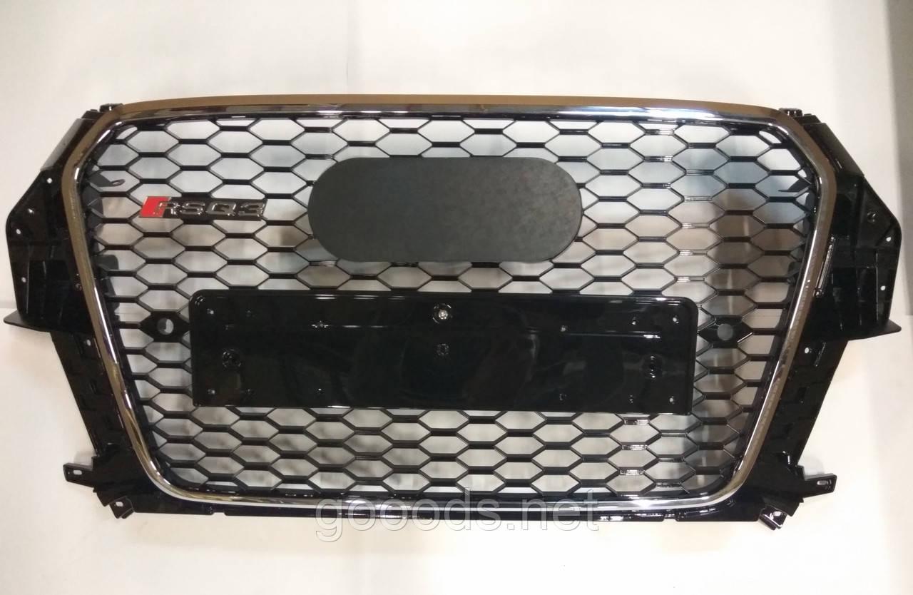 Радиаторная решетка Audi Q3 в стиле RS Q3 2012